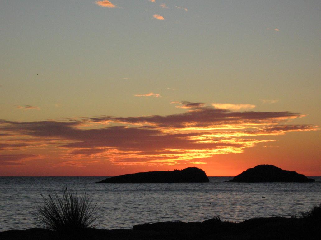 Au coucher du soleil... by GiulyRedRose