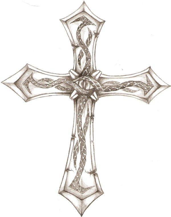 Crucifix Tattoo Design 1 By Iconoclastic Beleifs On Deviantart