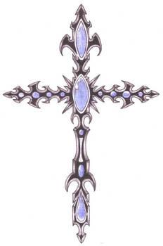 Crucifix Tattoo design 2