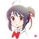 Mitsuha from Kimi no Na wa