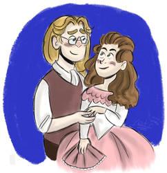 His beloved Elizabeth by OhMyGodItsTheYeti
