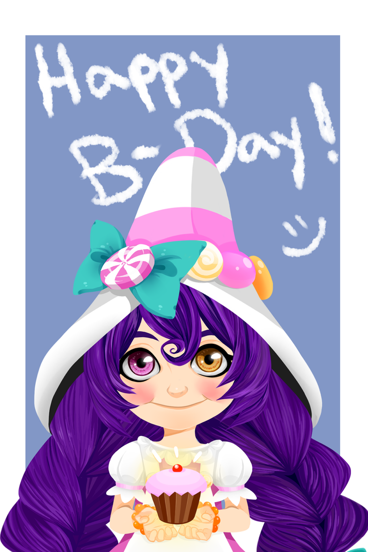 Bittersweet Lulu Birthday Card by TheCherryKing