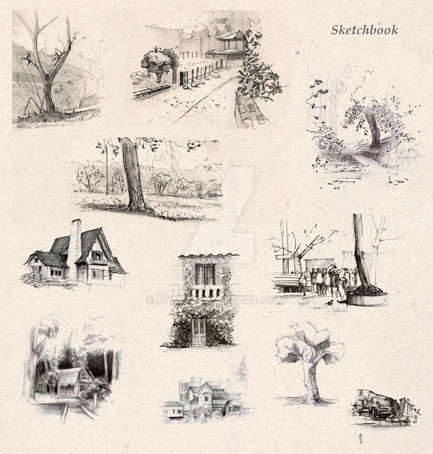 Sketchbook by Nym5