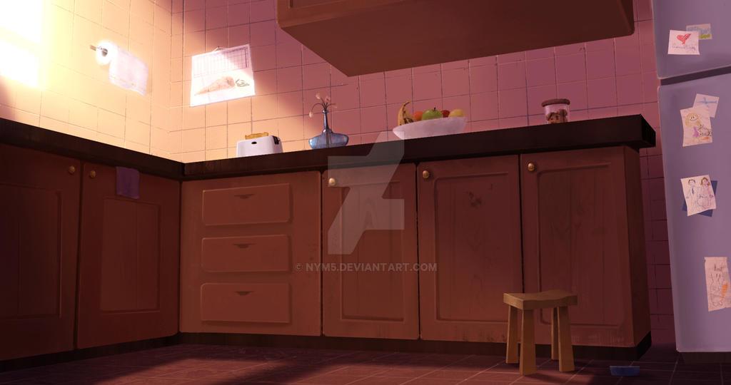 Kitchen concept by Nym5
