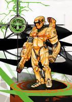 Cyborg by Buashei