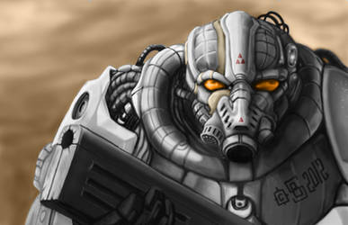 Practice: Power Armor by Buashei