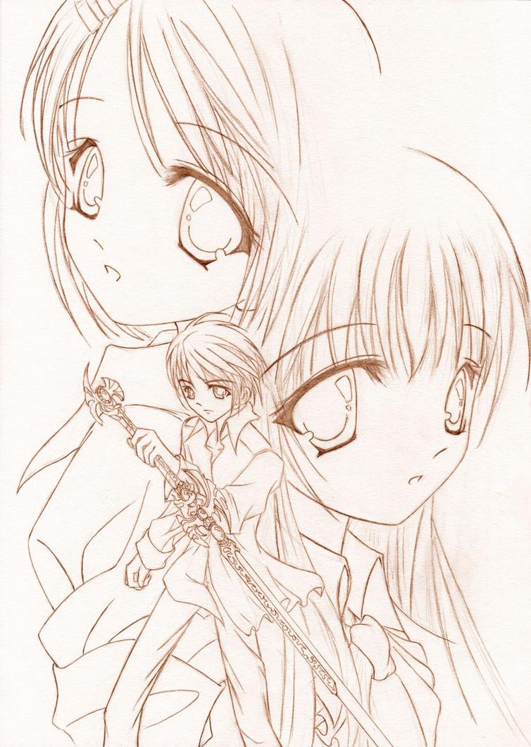 Original Character - Skecht 01 by Dark-Sakura