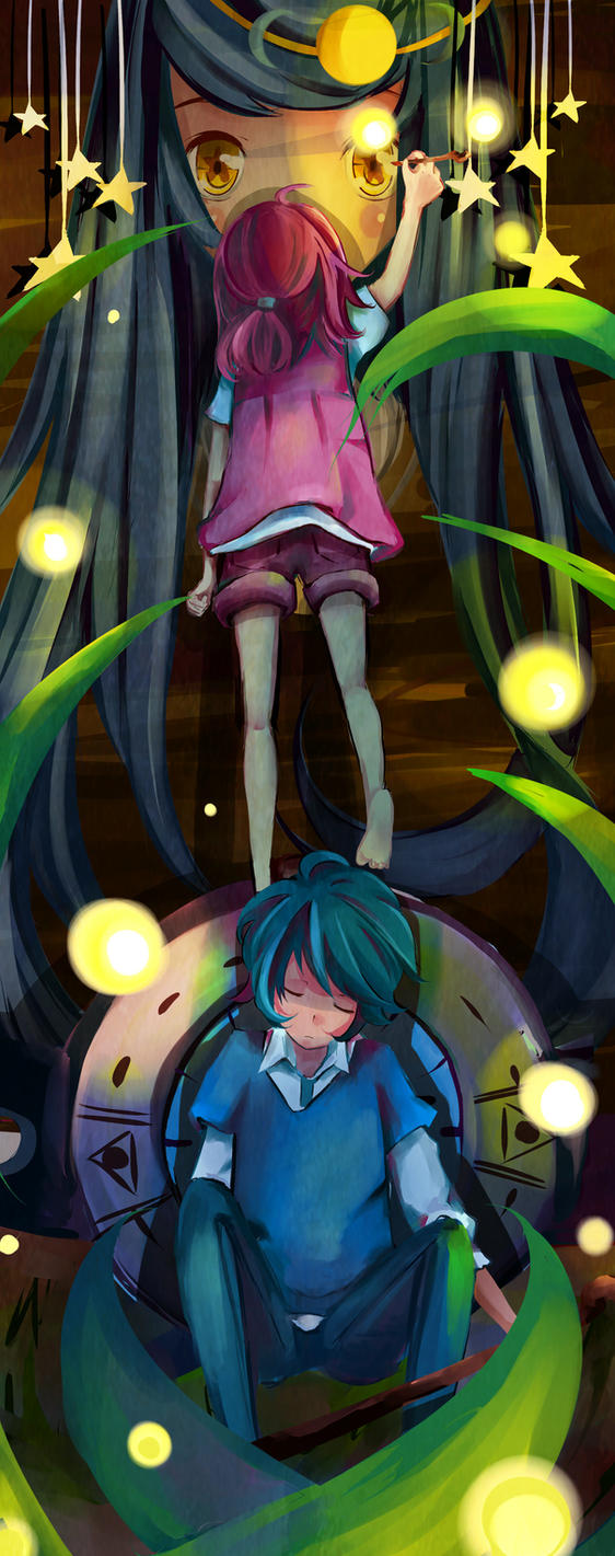 Children Of The Fireflies - Lost Things by Alie-Reol