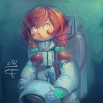 Astronaut Alie