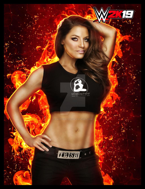 WWE 2K19 - Trish Stratus by xWreckIntent on DeviantArt