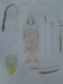 Ewijn's armour