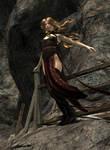 Aerie from Baldur's Gate II