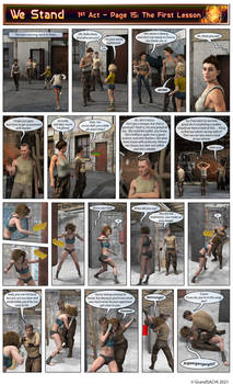 WE Stand (A1P15): The First Lesson