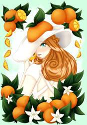 Own Style Challenge: Orange Summer by Sayna-Yuki