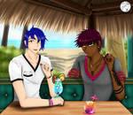 SS: Chill Summer Drinks by Sayna-Yuki