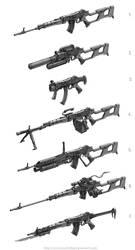 Modular Arms by Keithwormwood