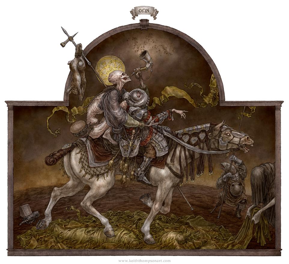 Pestilential Advent by Keithwormwood