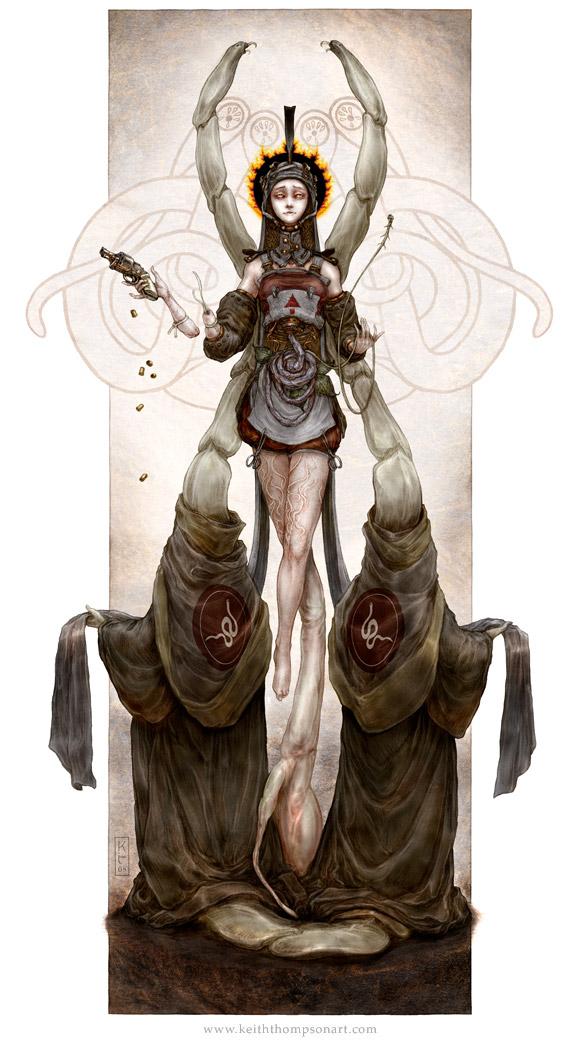 Saint of Parasites by Keithwormwood