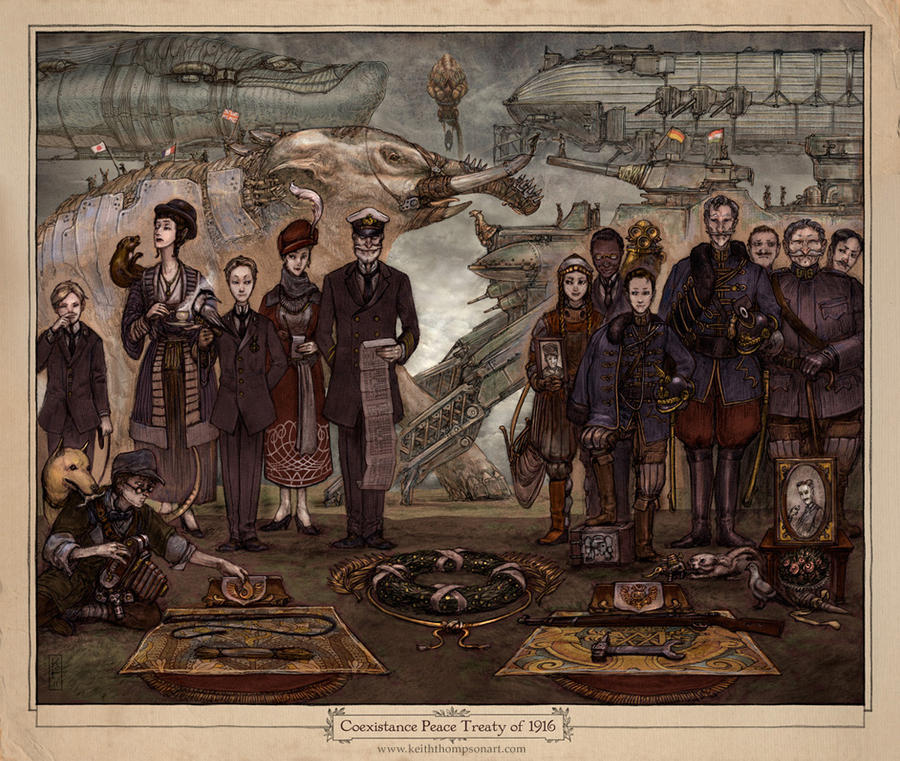Peace Treaty by Keithwormwood