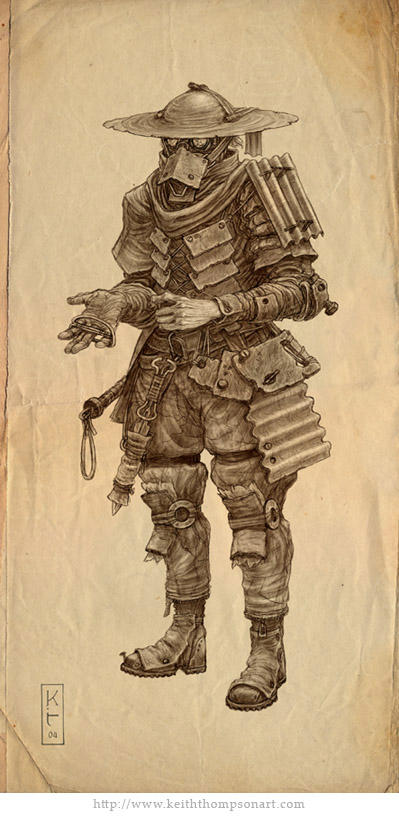 Character Design Techniques Keith Thompson : Slaver by keithwormwood on deviantart