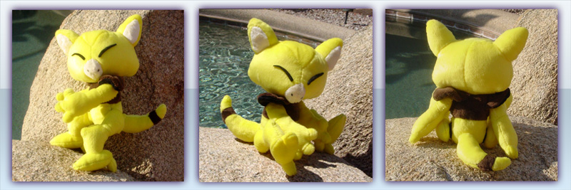 Abra Plush by Patchwork-Shark