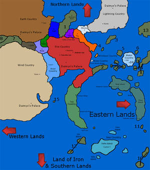 Naruto World: Base Map