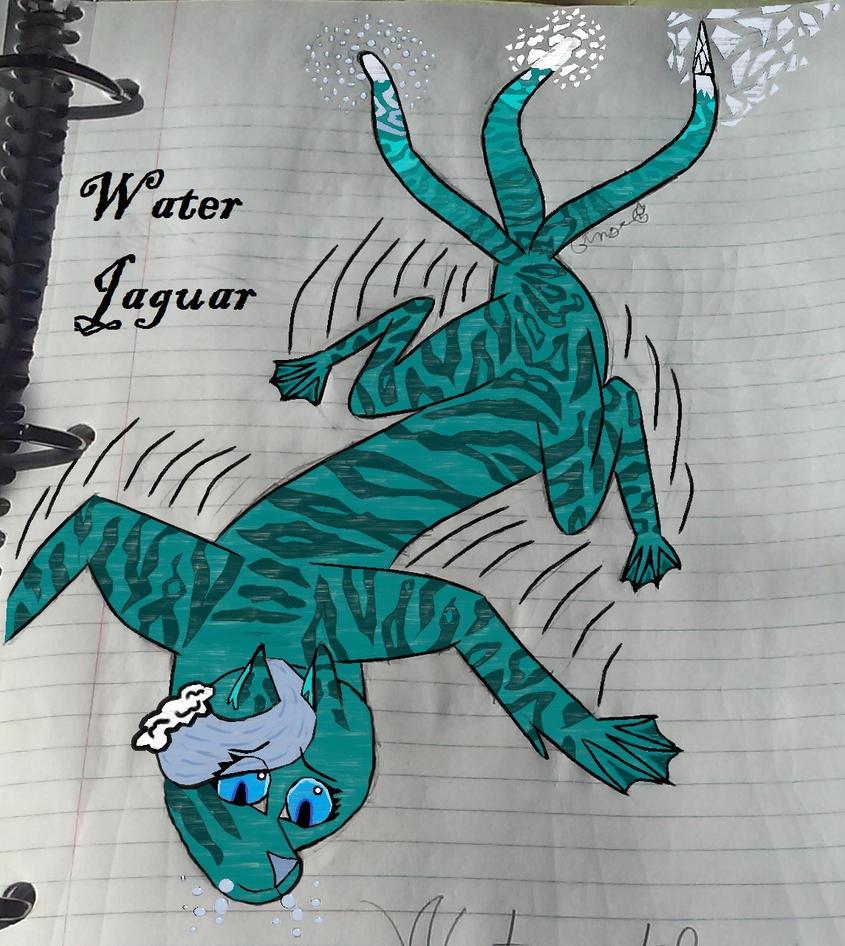 Water Jaguar by GingerTheSuperJaguar