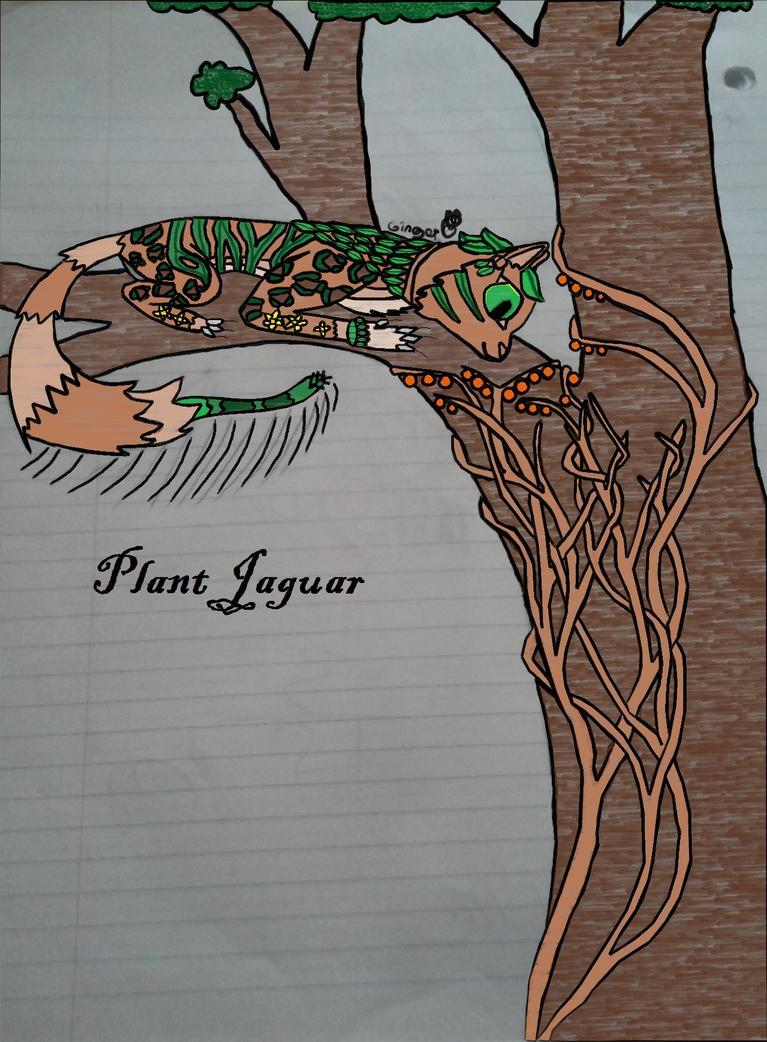 Plant Jaguar--please read description by GingerTheSuperJaguar