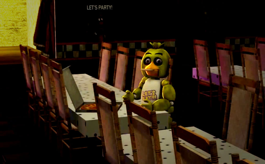 Chica finally tastes pizza for the first time