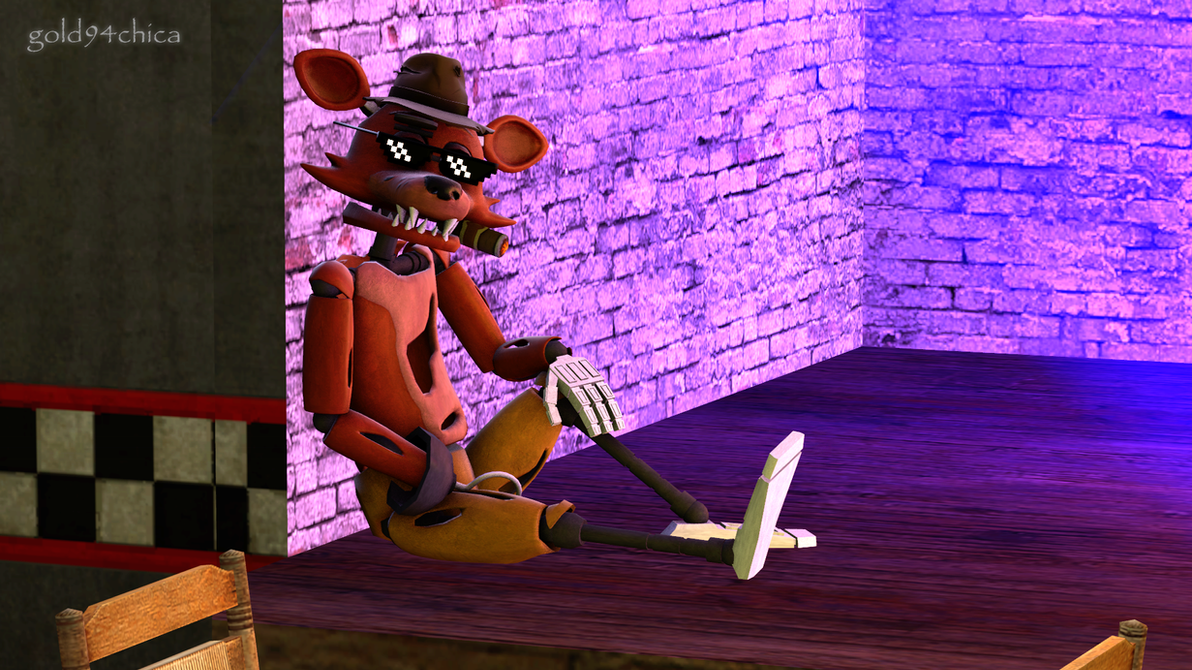 boss foxy chillin (sfm wallpaper wip)gold94chica on deviantart