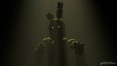 Springtrap is ready... and waiting (SFM Wallpaper)