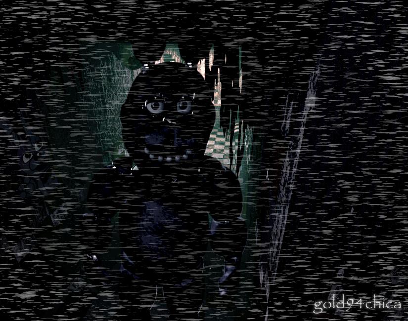 Bonnie in a fnaf3 hallway by gold94chica on deviantart
