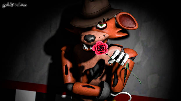 Oh, I've been waiting for you (Foxy SFM Wallpaper)
