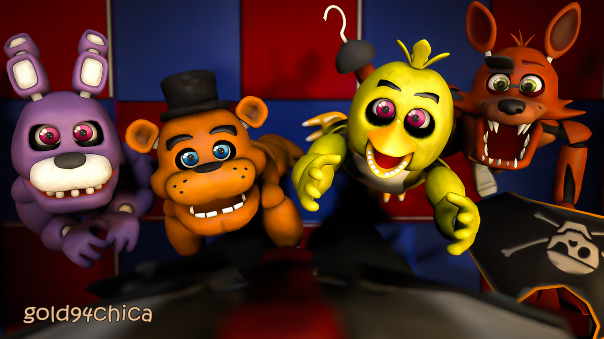 Who wouldn t want to spend 5 nights lil freddy s by gold94chica on
