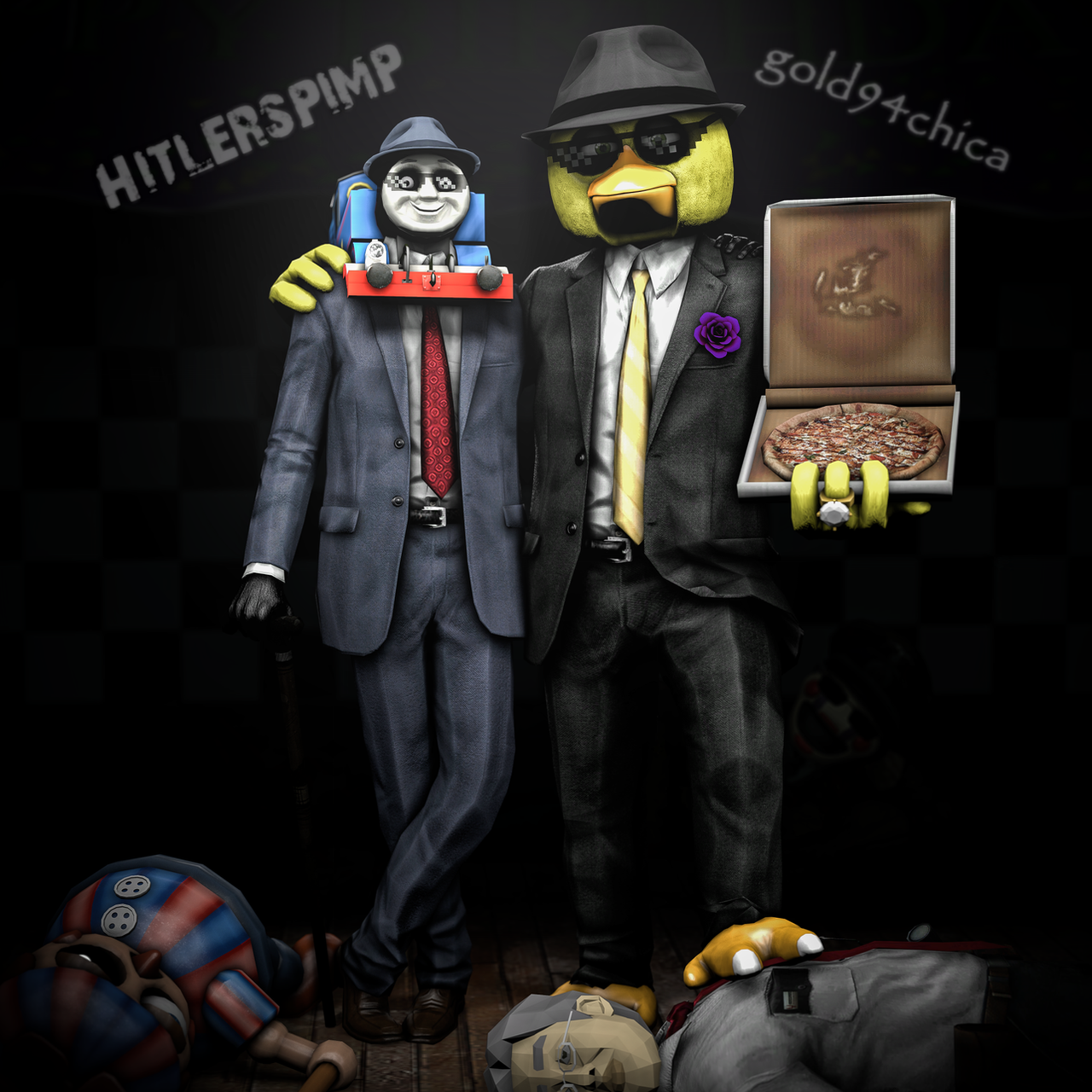 True Pimps: Hitlerspimp And Gold94chica By Gold94chica On