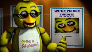 I got Employee Of The Month in Fazbear's Fright!