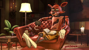 For old Foxy, a good book is better than booty lol