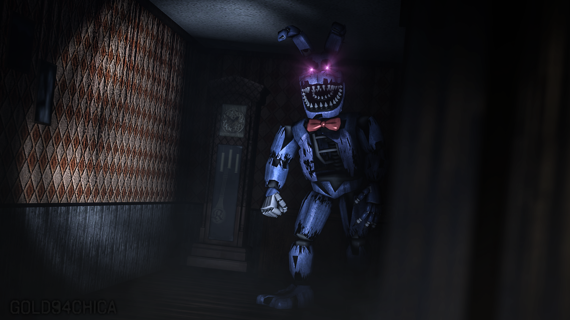 how tall is nightmare bonnie?