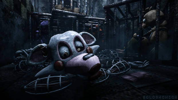 Tossed out with the 'trash' (FNAF2 Mangle SFM)