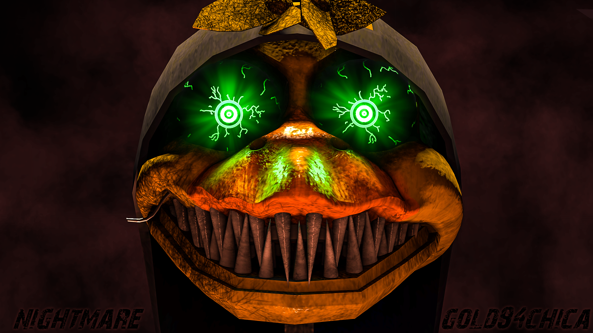 Nightmare gold94chica by gold94chica