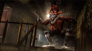 Nightmare Foxy 4k Wallpaper SFM