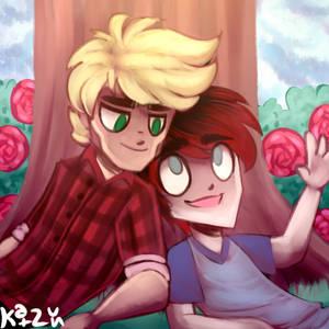 Ryan and Emmet Roses by Katzun
