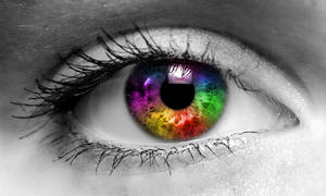 Colored eye by chiefwrigley