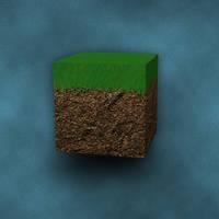 Minecraft Dirt by chiefwrigley