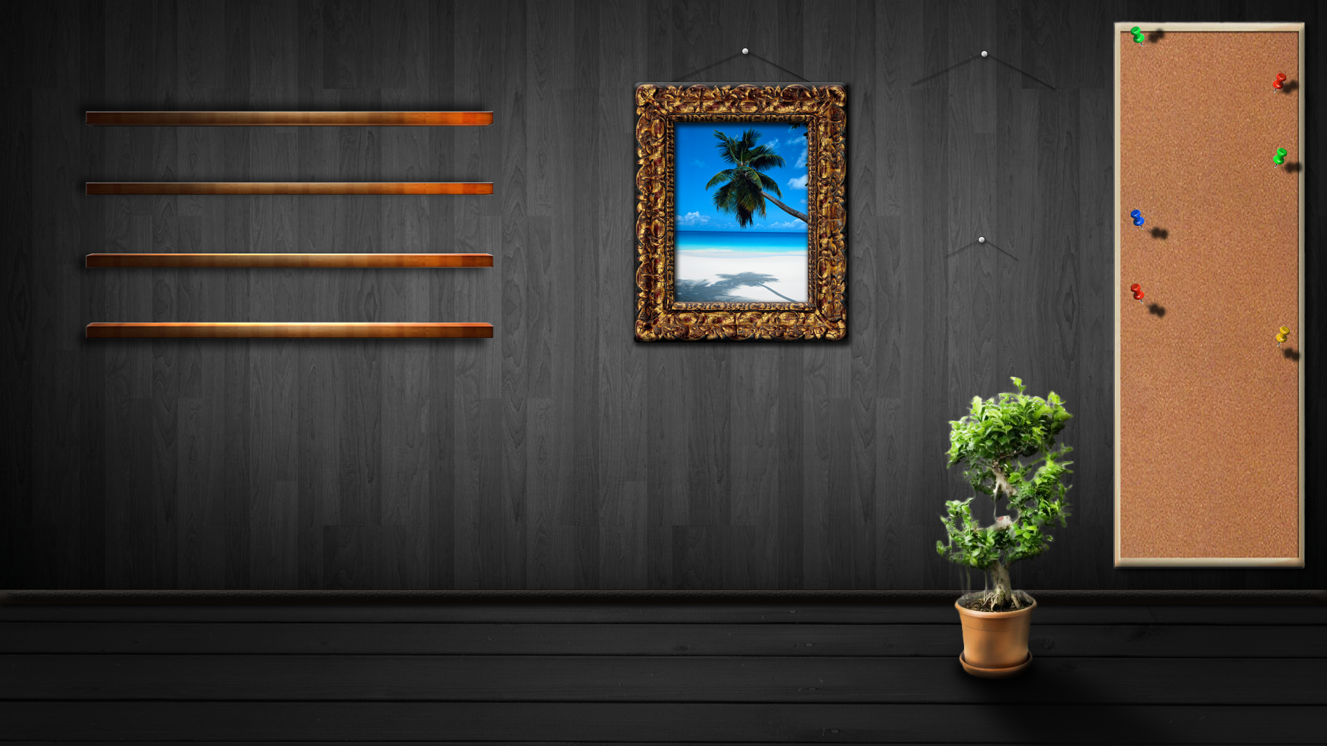 Wooden room wallpaper by chiefwrigley on deviantart for Full room wallpaper