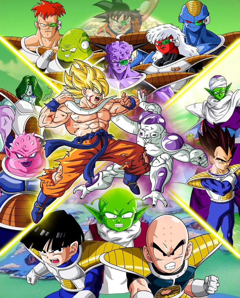 [Galeria] Dragon Ball, Z-GT-KAI-SUPER Dragon_ball_z_saga_freezer_by_luffysan9-d8elblw