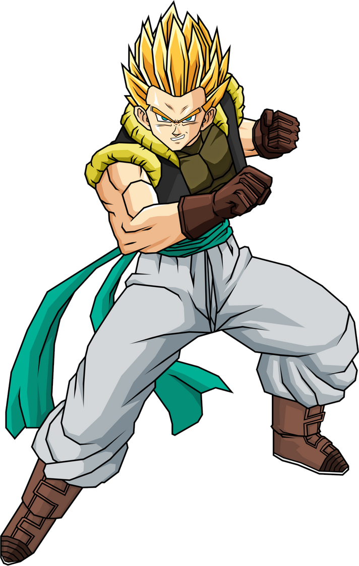 Gotenks GT (ssj) by luffysan9 on DeviantArt