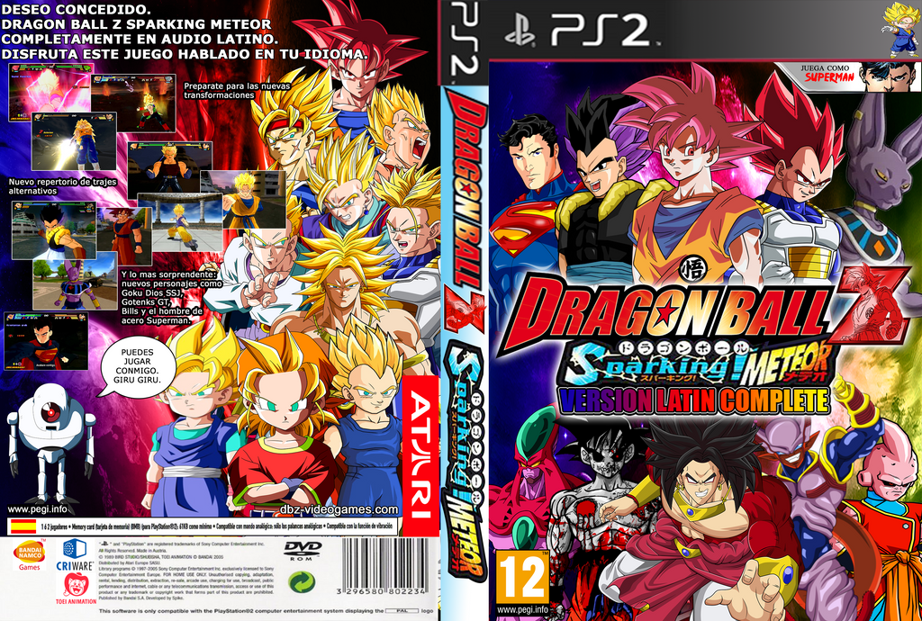 Dragon Ball Z Sparking Meteor Ps2 Iso - globalmust