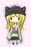 Random: Cute Chibi Girl~ by thekawaiione