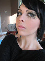 Leopard Print Makeup v.3 by TELEFONA